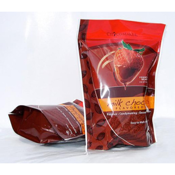 Flexible Stand Up Pouch For Chocolate Packaging