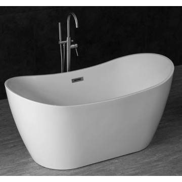 Freestanding Acrylic Bathtubs White