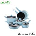 Popular 10 Pieces Marble Cooking Set