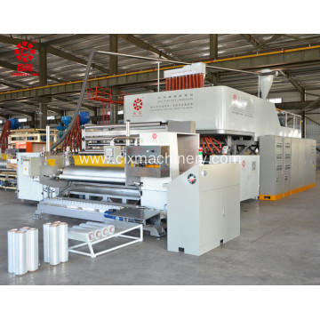 Co-Extrusion Stretch Film Wrapping Plant Certificates