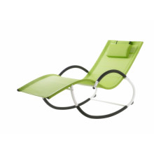steel G shape rocking chair