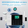 PGST PG-105 3G WIFI GSM GPRS Alarm System Alarm Host with 433MHz Home Alarm Kits Smart Security Burglar APP Remote Control