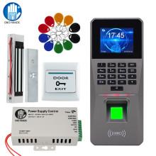 OBO RFID Door Access Control System Kit Set TCP/IP/ USB Fingerprint Biometric Keypad Reader + Electric Magnetic Electronic Locks