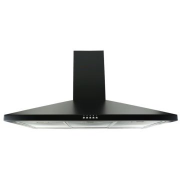 90cm Traditional Chimney Cooker Hood in Black
