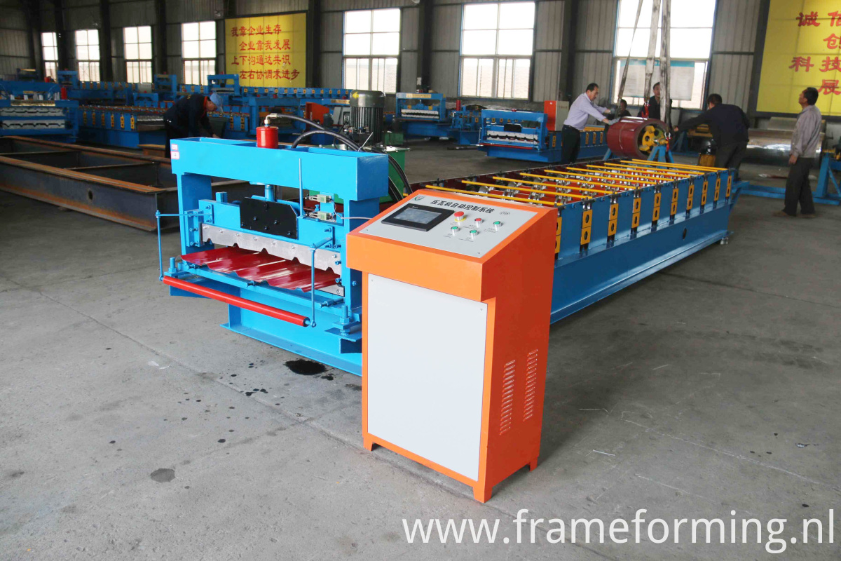 Coating Coils Roofing Sheets Machines