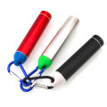 Metal Case Keychain Cylindrical Power Bank 2200mah