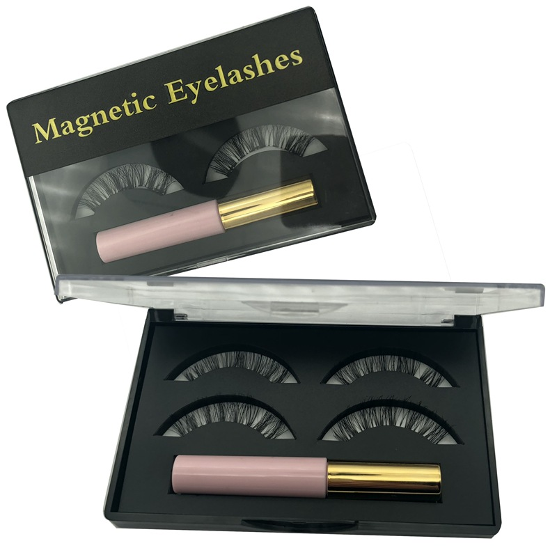 silk mink eyelashes magnetic eyeliner
