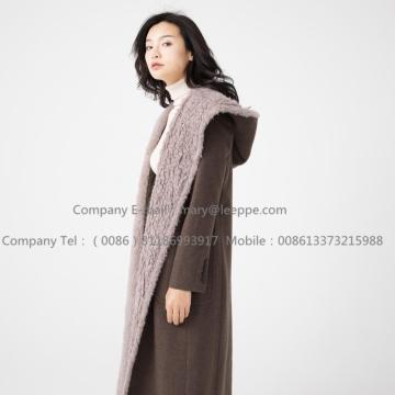 Water Wavy Lady Cashmere Overcoat