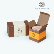 Custom Printing Rectangle Tea Jar Box Packaging