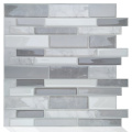 Self Adhesive Tiles Waterproof Wallpaper Vinyl Backsplash
