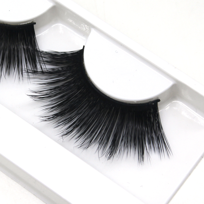 5D Faux Mink Lashes Silk False Eyelash 25MM
