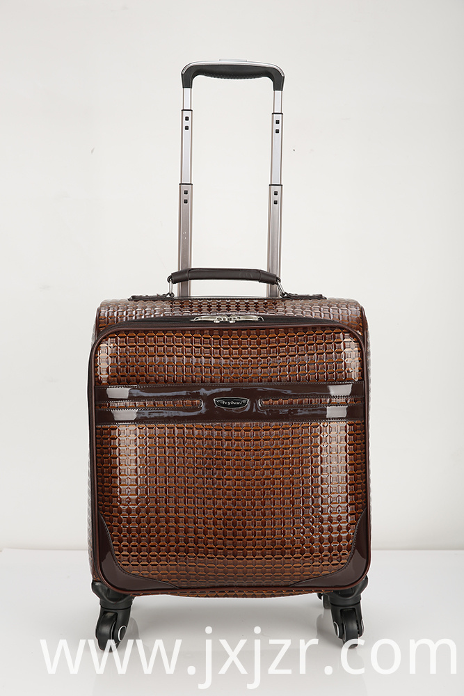 4 Wheel Expandable Upright Suitcase