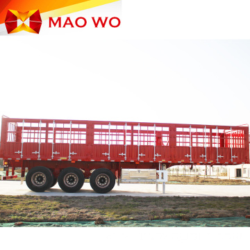 60 Ton Animal Fence Semi Truck Trailer