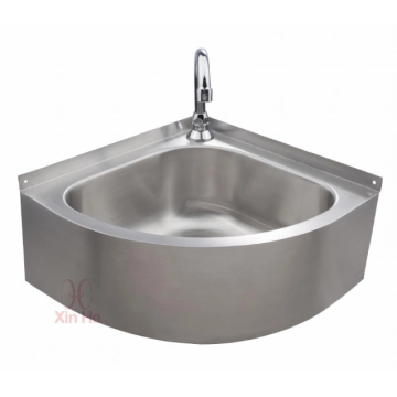 Stainless steel triangle sink Space saving