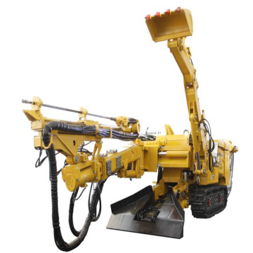 Excavator Trailer Mounted Augers Drilling Rig