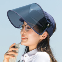 Face shield mask large sun visor hat factory