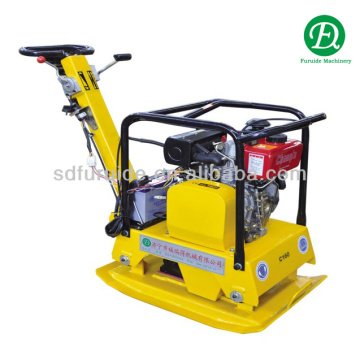 Honda gasoline reversible manual vibrating plate compactor