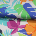 Custom Made cotton rayon Flower Interwoven Printed Fabric