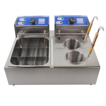Double Tank Electric Deep Fryer