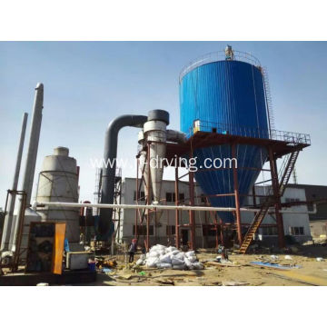 High speed centrifugal spray dryer/drier machine
