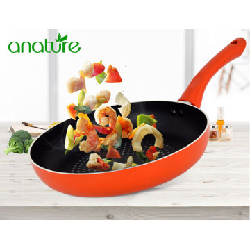 Orange Nonstick Frying Pan As Seen on TV