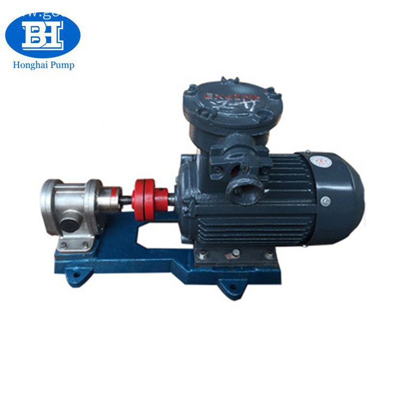 High Pressure Fuel Transfer Gear Electric Rotary Oil Pump