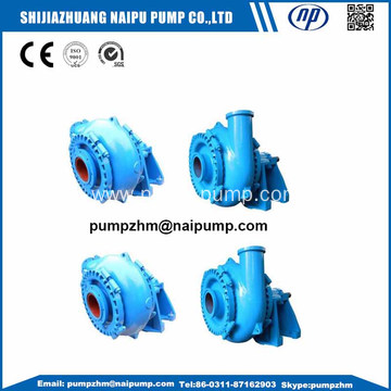 Wear resistant high head centrifugal gravel pump