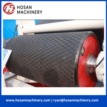 Rubber Covered Pulley for belt conveyor