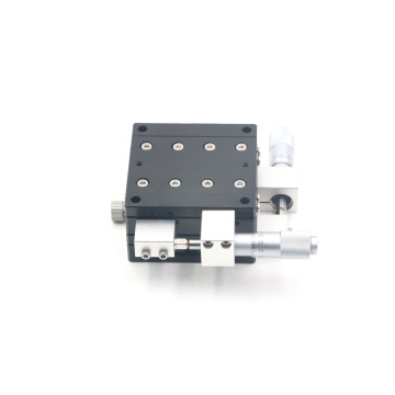 XY Travel Crossed-Roller Bearing Micrometer Linear Stage