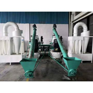 Biomass Straw Pellet Making Machine Plant
