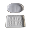 PS disposable thermoforming vacuum formed plastic tray