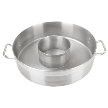 Stainless Steel Compound Bottom Separated Short Pot