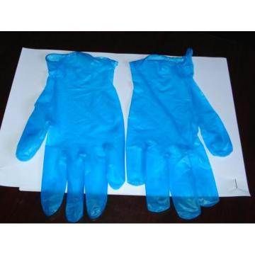 Disposable Blue Vinyl Gloves