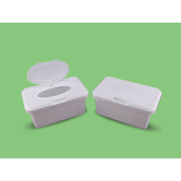 Plastic Box Packed Custom Wet Wipes