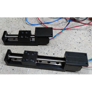 Stroke 90mm Lead Screw Stepper Motor Slide table