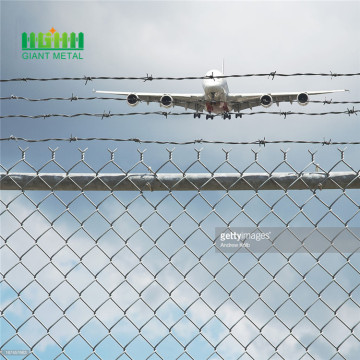 Airport weld security fence
