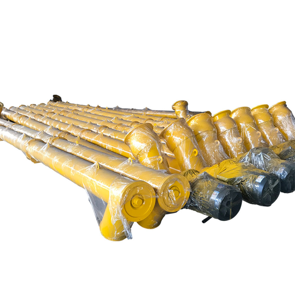 HZS50 cement silo screw conveyor