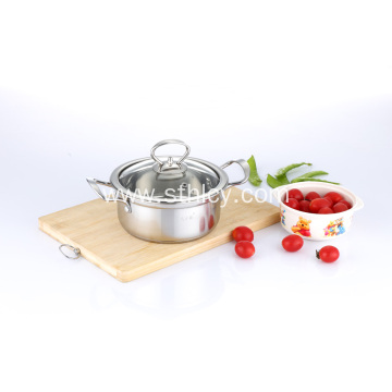 201 Stainless Steel Mini Soup Hot Pot