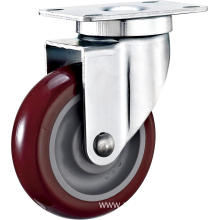 3'' Swivel Industrial PU Caster With PP Core