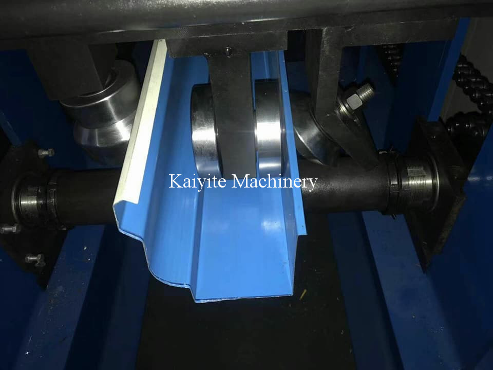 Rain Gutter Steel Roll Forming Machine