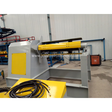 5tons auto decoiler for steel coil
