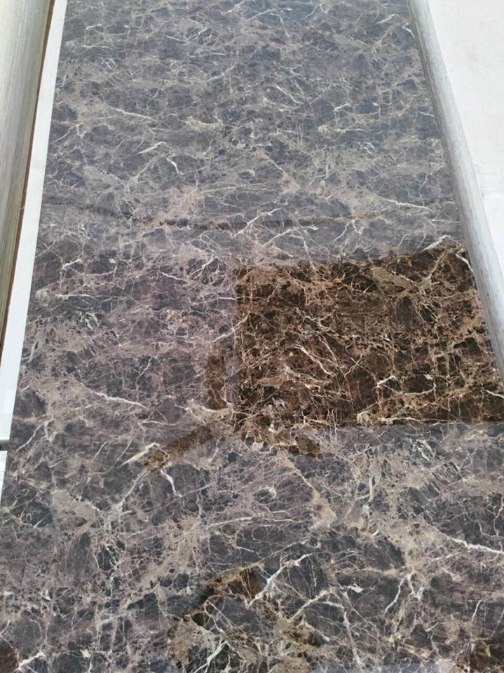 Decorative pvc uv marble panel for cabinet