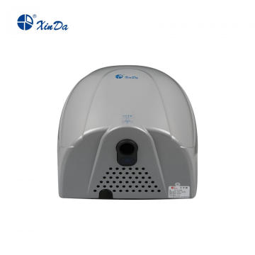 Silver Ordinary hand dryer with plastic shell