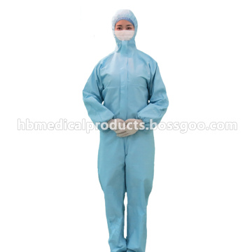 High Quality Breathable and Blue Coverall