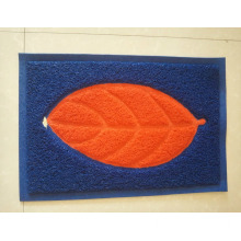 Leaf design joint noodle coil entrance mats