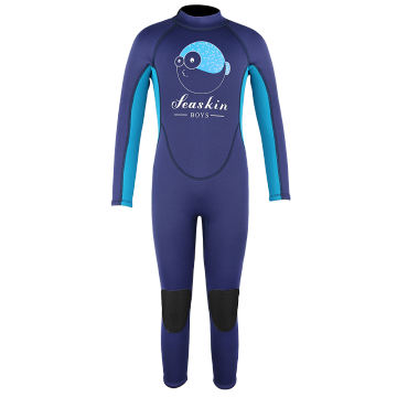 Seaskin Kids Long Wetsuits for Diving