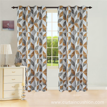 Factory Hot Sale Window Jacquard Curtain