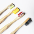 Degradable High-quality Cylindrical Bamboo Toothbrush