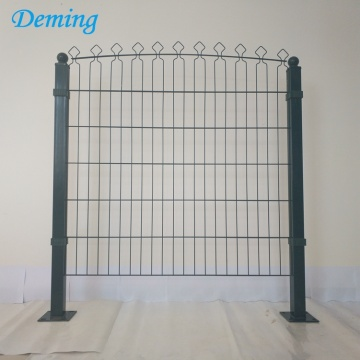 Factory Direct Sale PVC Coated Decofor Panel Fence