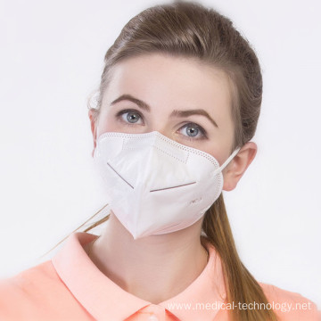 Pm 2.5 N95 Horizontal Fold Face Mask Disposable